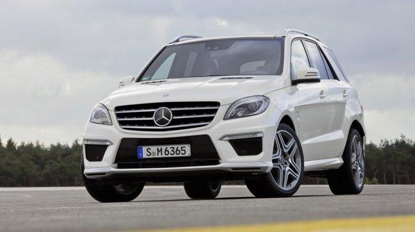 Noul Mercedes-Benz ML 63 AMG este putin mai agresiv decat un ML normal