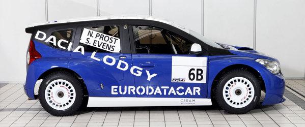 Desi din profil Dacia Lodgy Glace arata ca o compacta, inaltimea monovolumului de serie va fi mai mare