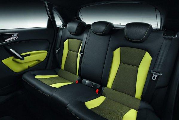 Audi A1 Sportback ofera optional si o bancheta cu 3 locuri