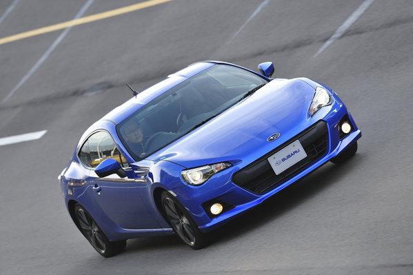 Noul Subaru BRZ este fratele lui Toyota GT 86