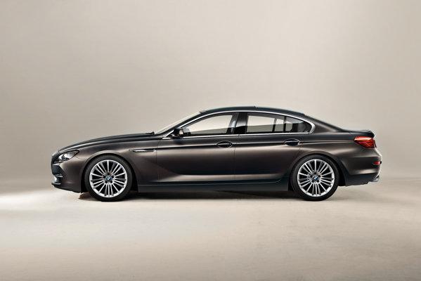 BMW Seria 6 Gran Coupe are lungimea si ampatamentul mai mari cu 11,3 cm decat Seria 6 Coupe