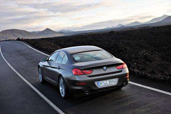 BMW Seria 6 Gran Coupe nu se diferentiaza estetic fata de conceptul din 2010