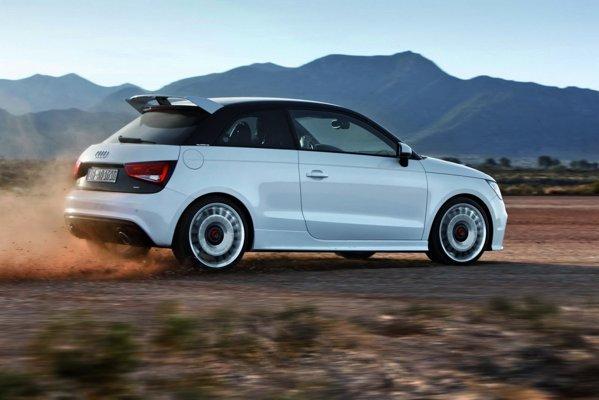 Audi A1 Quattro are motor turbo de 256 CP, cutie manuala cu 6 trepte si tractiune integrala