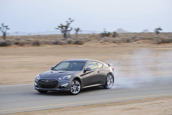 Versiunea de top a lui Hyundai Genesis Coupe facelift ajunge la 100 km/h in doar 5 secunde