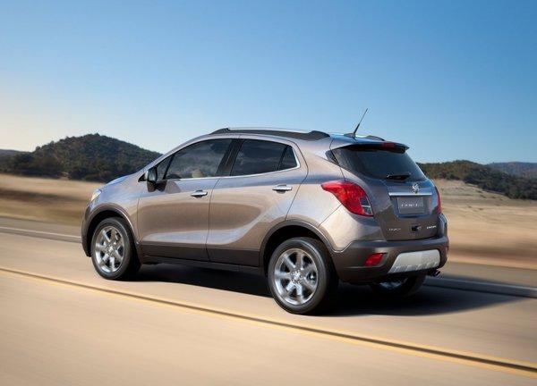 Buick Encore este oferit cu un motor, dar Opel Mokka va avea trei: doua pe benzina si un diesel