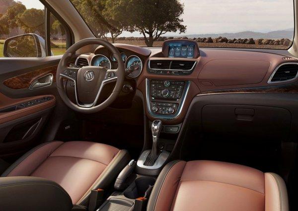 Interiorul fratilor Opel Mokka / Buick Encore aminteste de cel al monovolumului Meriva