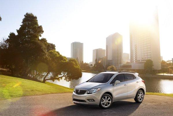 Atat Buick Encore, cat si Opel Mokka vor oferi o lista bogata de optionale moderne