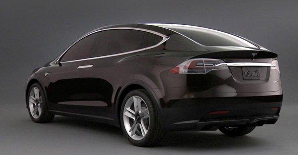Tesla Model X pare un Tesla Sedan... umflat cu pompa