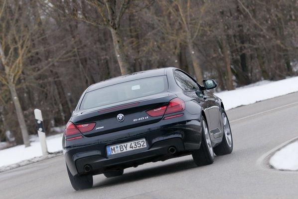 BMW 640d xDrive anunta un demaraj mai bun decat 640d, iar consumul e sensibil mai mare