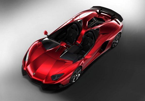 Lamborghini Aventador J nu e un concept, ci o comanda a unui client extravagant