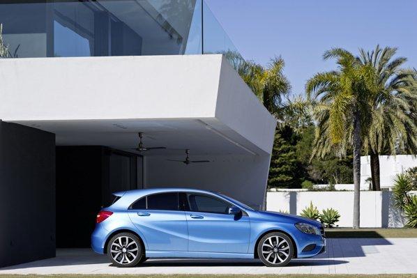 Mercedes A-Class are 3 versiuni pe benzină şi 3 diesel
