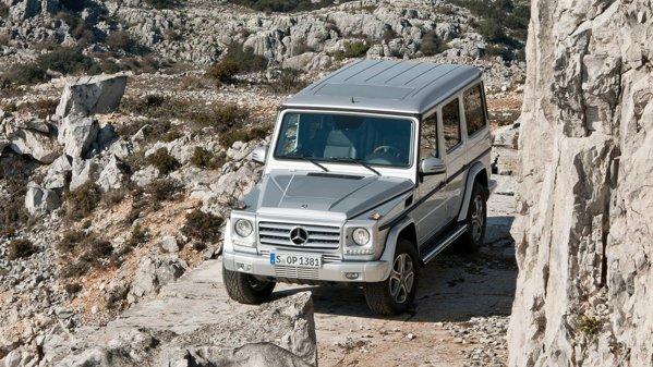 G-Class este printre puţinele SUV-uri ce se pot descurca de minune în off-road