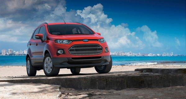 Cel mai probabil, Ford EcoSport va fi lansat in Europa la Salonul Auto Paris 2012