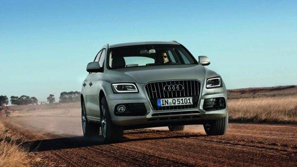 Primele imagini cu Audi Q5 facelift