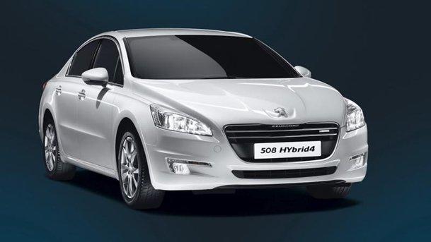 O nouă versiune Peugeot 508: Hybrid4, diesel-electric