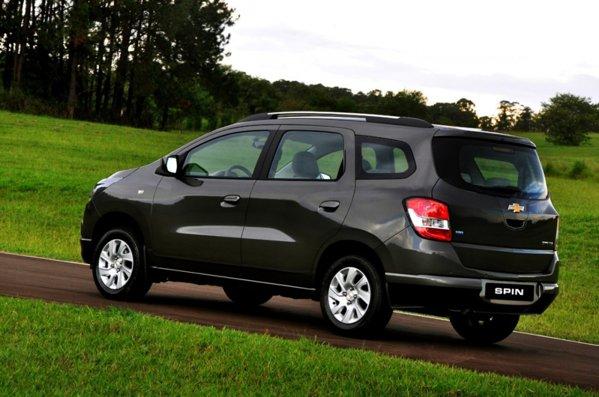 Noul monovolum Chevrolet Spin are un design care inspira spatiu si spirit pargmatic in primul rand