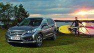 Noua Honda CR-V, versiunea pentru Europa - imagini şi detalii oficiale