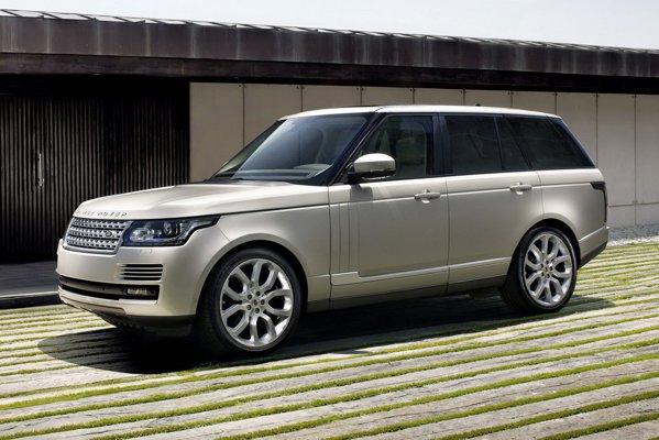 Noul Range Rover pastreaza stilul clasic si masiv al precedentei generatii