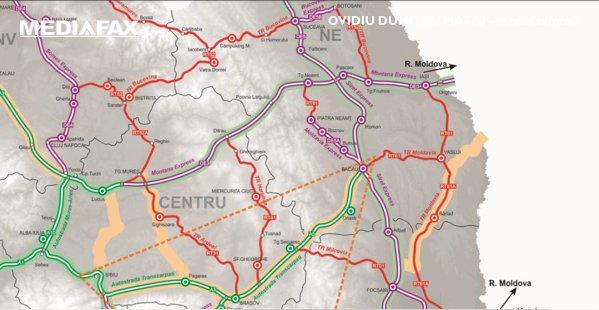 Autostrăzile din nordul Moldovei