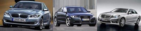 BMW Seria 5 si Audi A6 vor avea generatii noi in curand, iar noul Mercedes Clasa E e proaspat aparut