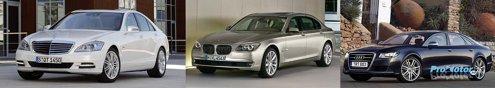 Mercdedes S-Class facelift, BMW Seria 7 e la o noua generatie, iar noul Audi A8 va aparea peste un an
