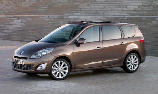 In Romania, Renault Grand Scenic este oferit cu 7 locuri doar in versiunea de top 1.9 dCi