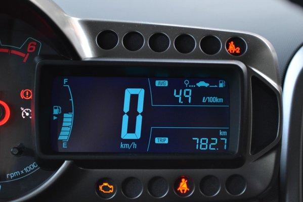 4,9 litri/100 km, la o viteza medie de peste 100 km/h si un stil agresiv cu Aveo Diesel