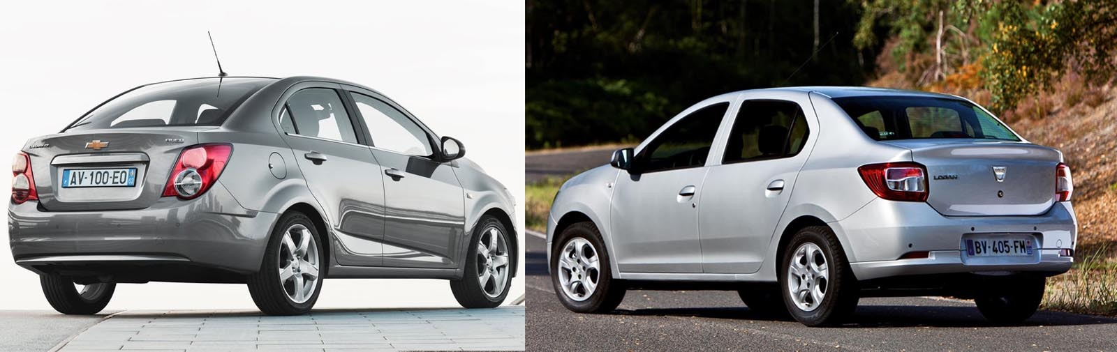renault logan vs aveo