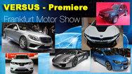TOP 10: rivalităţi premiere importante la Salonul Auto Frankfurt 2013