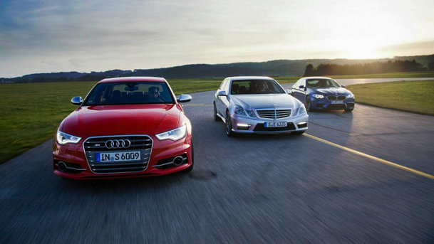 Audi vs. BMW vs. Mercedes-Benz în 2013. And the winner is...