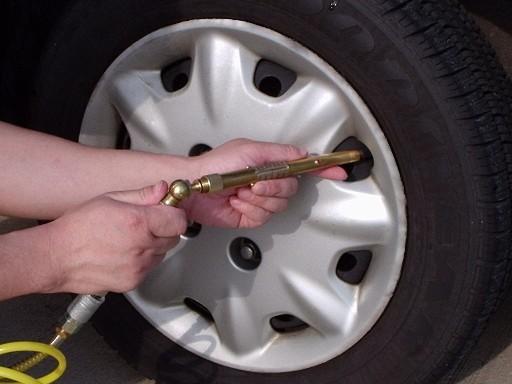 Nu este recomandabila umflarea pneului peste presiunea nominala