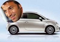 Fiat 500 pentru Del Piero