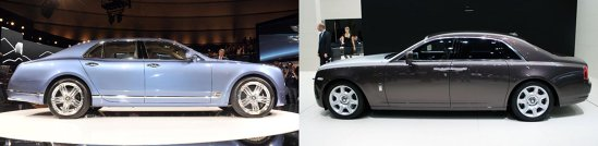 Bentley Mulsanne vs. Rolls Royce Ghost