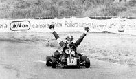 Alain Prost la Karting