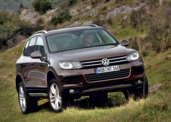 Geneva 2010: Volkswagen Touareg