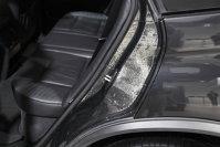 Detaliu din caroseria de carbon a unui BMW X5 experimental