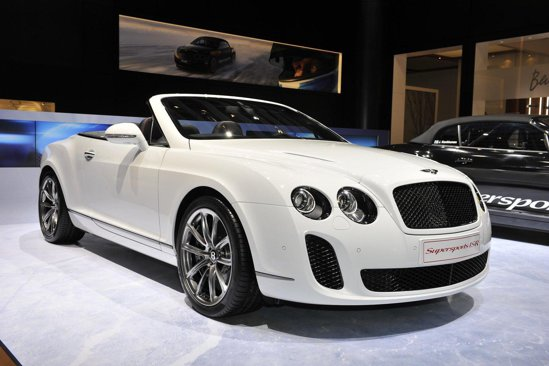 Bentley Supersports ISR Convertible