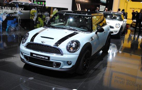 Mini Cooper SD - emisii CO2 de 114 g/km