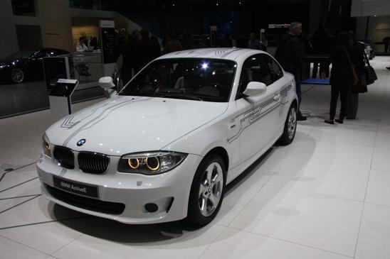 BMW ActiveE - autonomie 160 km