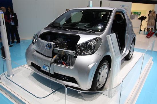 Toyota iQ EV - autonomie 100 km