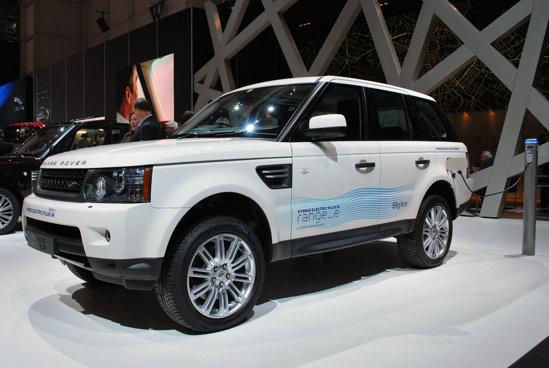Range Rover e - emisii CO2 de 89 g/km