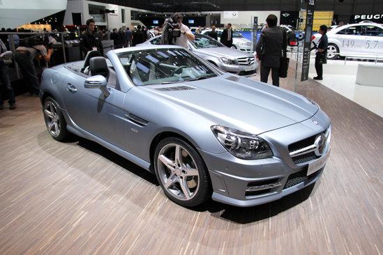 Mercedes SLK - generatie noua