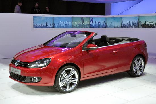 Volkswagen Golf Cabrio - versiune noua caroserie