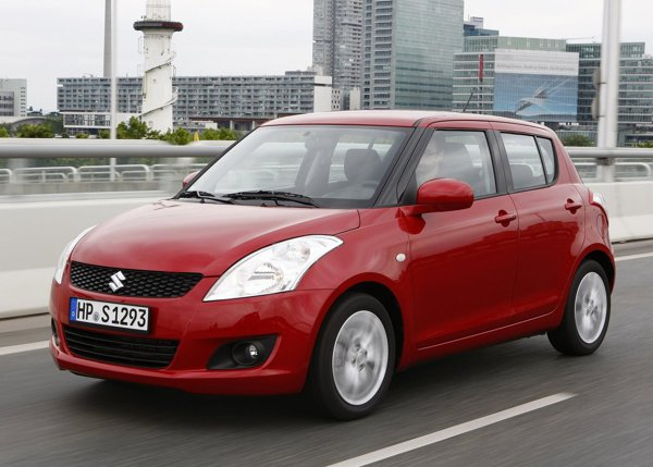 Suzuki Swift are o echipare standard foarte bogata: 1.2 AT costa 14.000 euro