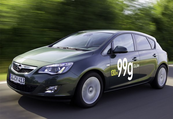 Locul 9- Opel Astra 1.7 CDTI ecoFLEX