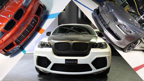 TOP 5: BMW-uri tunate la Frankfurt 2011