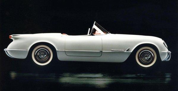 Chevrolet Corvette C1 - modelul lansat in 1953 la Motorama New York