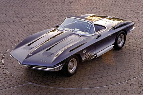 Conceptul Corvette Mako Shark I, din 1961, prefigura noua generatie Corvette C2