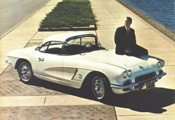 Ultimul Corvette C1, din 1962, a primit un V8 upgradat pana la 360 CP