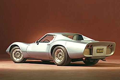 Chevrolet Corvette XP-819 Experimental a fost prototipul unu Corvette cu motor in spate